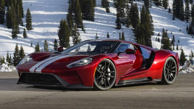 Ford stipulates an owner can't sell a GT during the first two years.