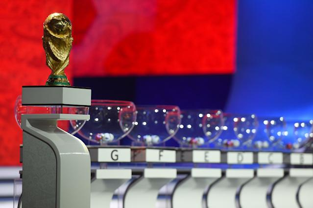 Now that the World Cup Draw is complete, we know a bit more what the road to the final in Moscow looks like. (Getty)