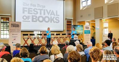 August 24, 2019 San Diego Union-Tribune Festival of Books.