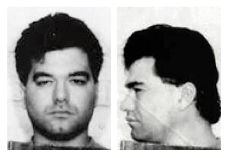 "FILE - This 1994 file photo provided by the Federal Bureau of Investigation shows Enrico Ponzo. Ponzo was convicted in Boston in November 2013 of several federal crimes, including the 1989 attempted killing of Francis ""Cadillac Frank"" Salemme. Ponzo fled Massachusetts in 1994 and landed in Idaho where he spent more than a decade as a cattle rancher and stay-at-home father. He is scheduled to be sentenced in federal court Monday afternoon, April 28, 2014, in Boston. (AP Photo/Federal Bureau of Investigation, File)"