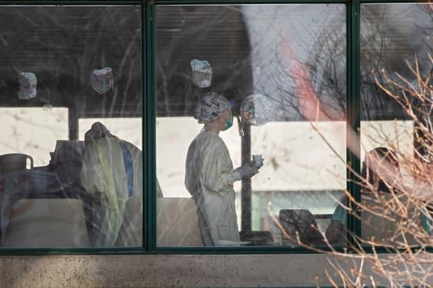 A total of 47 people died at the Herron nursing home in the pandemic's first wave.  (Ivanoh Demers/Radio-Canada - image credit)