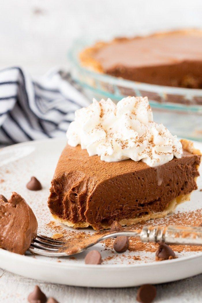 "<p>Sometimes, you're just craving a classic chocolate pie recipe. This traditional take is simple, but it definitely won't let you down.</p><p><strong>Get the recipe at <a href=""https://www.eazypeazymealz.com/chocolate-pie/"" rel=""nofollow noopener"" target=""_blank"" data-ylk=""slk:Eazy Peazy Meals"" class=""link rapid-noclick-resp"">Eazy Peazy Meals</a>.</strong></p><p><strong><strong><a class=""link rapid-noclick-resp"" href=""https://go.redirectingat.com?id=74968X1596630&url=https%3A%2F%2Fwww.walmart.com%2Fip%2FCuisinart-PowerSelect-3-Speed-220-Watt-Electronic-Hand-Mixer-White%2F48600676&sref=https%3A%2F%2Fwww.countryliving.com%2Ffood-drinks%2Fg957%2Fchocolate-pie-recipes%2F"" rel=""nofollow noopener"" target=""_blank"" data-ylk=""slk:SHOP HAND MIXERS"">SHOP HAND MIXERS</a></strong><br></strong></p>"