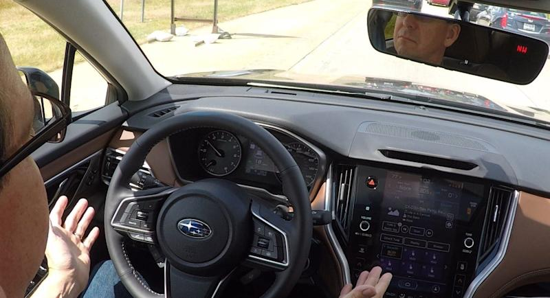 Wards editor Tom Murphy tests Subaru Outback's lane keeping and adaptive cruise.