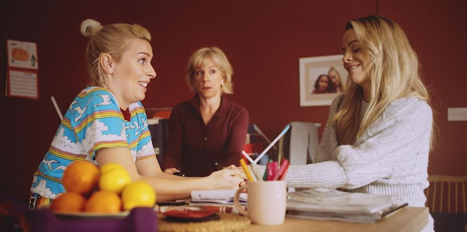 Sara Pascoe, Juliet Stevenson and Fiona Button in 'Out of Her Mind'Stolen Picture