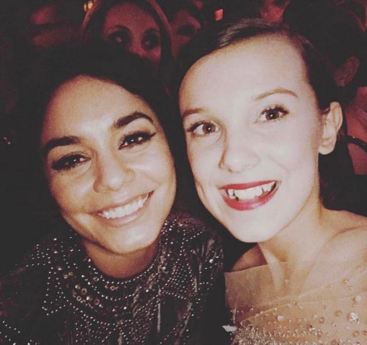 <p>And Vanessa Hudgens was SUPER chuffed to meet Millie, gushing about the encounter on her Instagram page.</p>