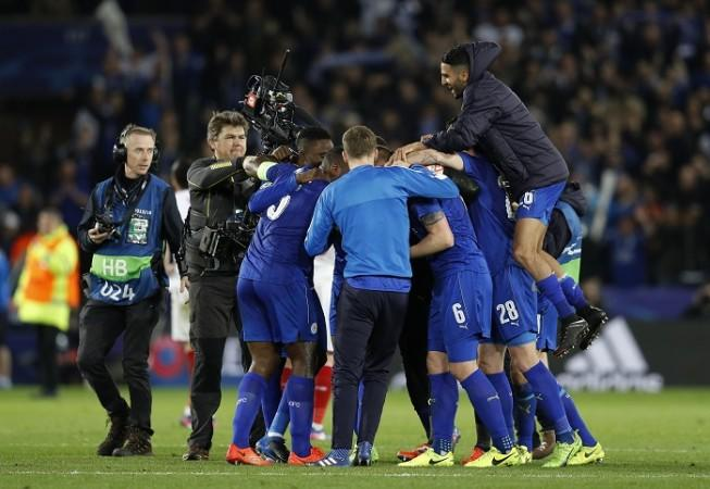 Leicester City, Champions League, last 16, second leg, Sevilla