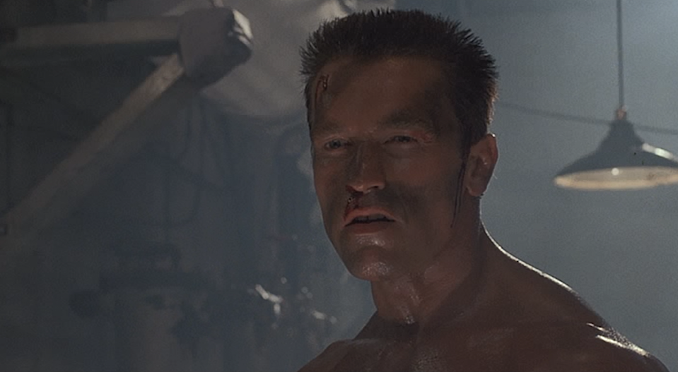 """<p>This gloriously cartoonish shoot-'em-up with a ridiculously high body count (Schwarzenegger's John Matrix kills 81 people, the single highest number of kills of the actor's career) also boasts a few corkers in the dialogue department. As well as reprising the two aforementioned 'Terminator' lines, we have the classic kiss-off to Vernon Wells' villain Bennett, killed with a broken pipe to the gut: """"Let off some steam, Bennett."""" (Picture credit: 20th Century Fox) </p>"""