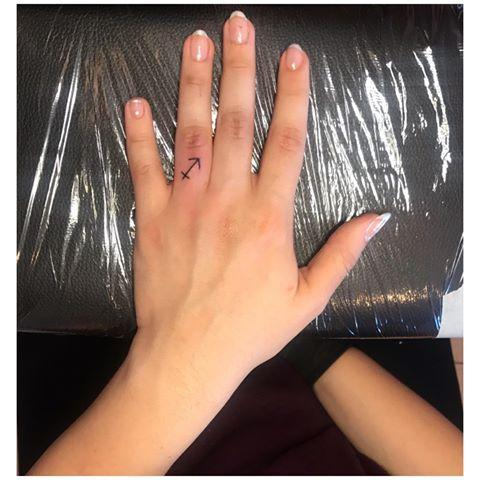 "<p>Instead of spending money on a ring that you're probably going to lose anyway, <strong>go the more permanent route with a <a href=""https://www.cosmopolitan.com/style-beauty/beauty/g33595643/libra-tattoo-ideas/"" rel=""nofollow noopener"" target=""_blank"" data-ylk=""slk:tattoo"" class=""link rapid-noclick-resp"">tattoo</a></strong> of the Sagittarius symbol.</p><p><a href=""https://www.instagram.com/p/CEwPiDVhrP6/"" rel=""nofollow noopener"" target=""_blank"" data-ylk=""slk:See the original post on Instagram"" class=""link rapid-noclick-resp"">See the original post on Instagram</a></p>"