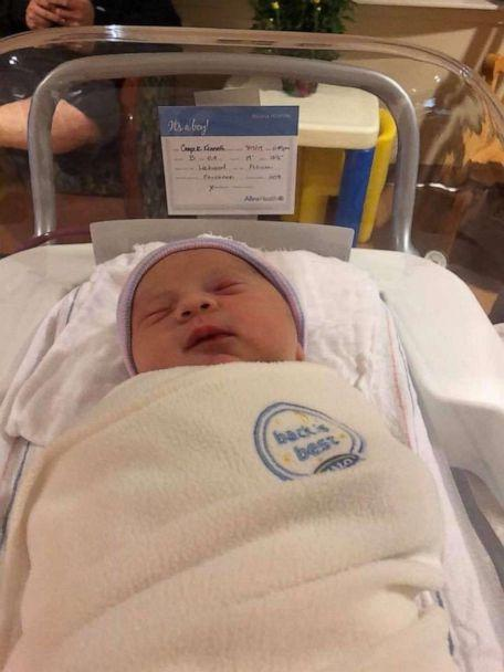PHOTO: Cooper Young, son of Felicia and Paul Young, was born at 11:49 p.m. in Minnesota. (Felicia Young)