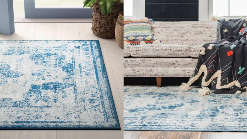This simple rug has the ability to tie an entire room together.