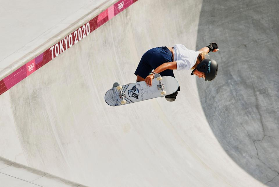 Brown has said professional surfing or playing in a band could be next for her (Getty Images)