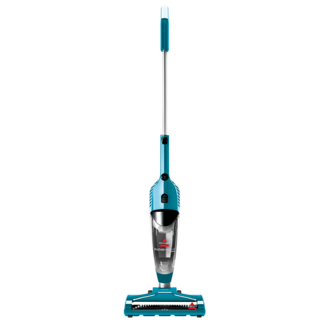 Bissell Featherweight Turbo Lightweight Stick Vacuum with Power Brush. Image via Amazon.