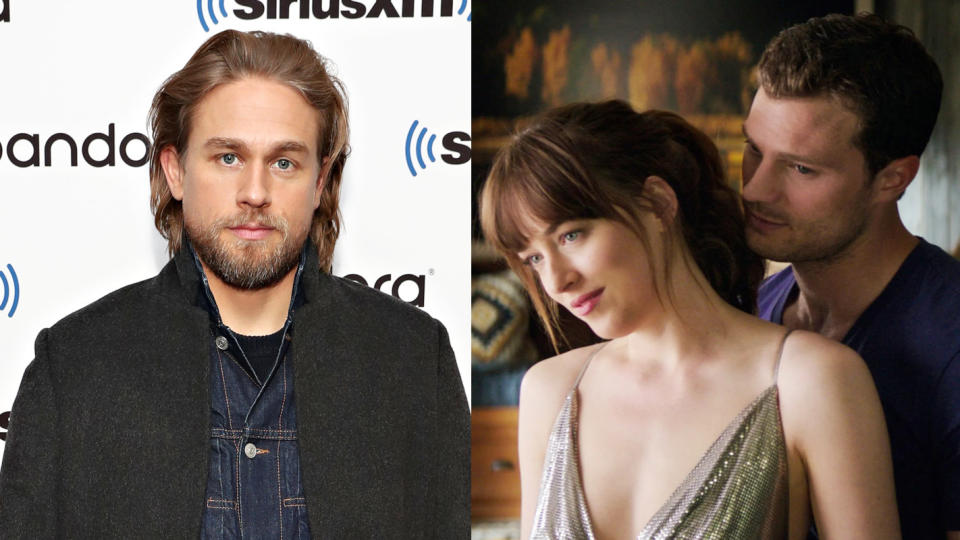 Charlie Hunnam almost took on the lead role in 'Fifty Shades of Grey'. (Credit: Cindy Ord/Getty Images for SiriusXM/Universal)