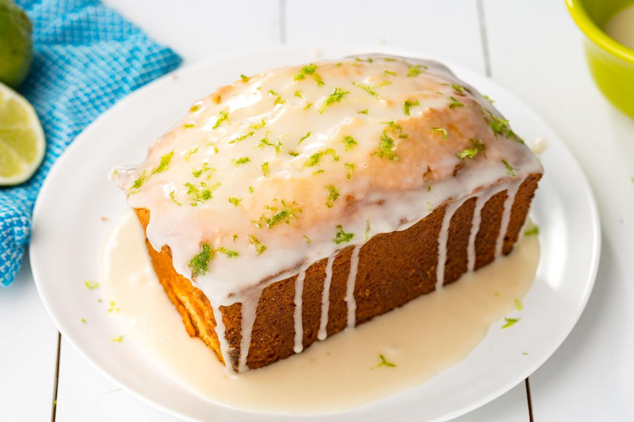 "<p>Pack the zesty flavor of key lime pie into this sweet loaf.</p><p>Get the recipe from<span> <a rel=""nofollow"" href=""http://www.delish.com/cooking/recipe-ideas/recipes/a46946/key-lime-pound-cake-recipe/"">Delish</a>.</span></p>"