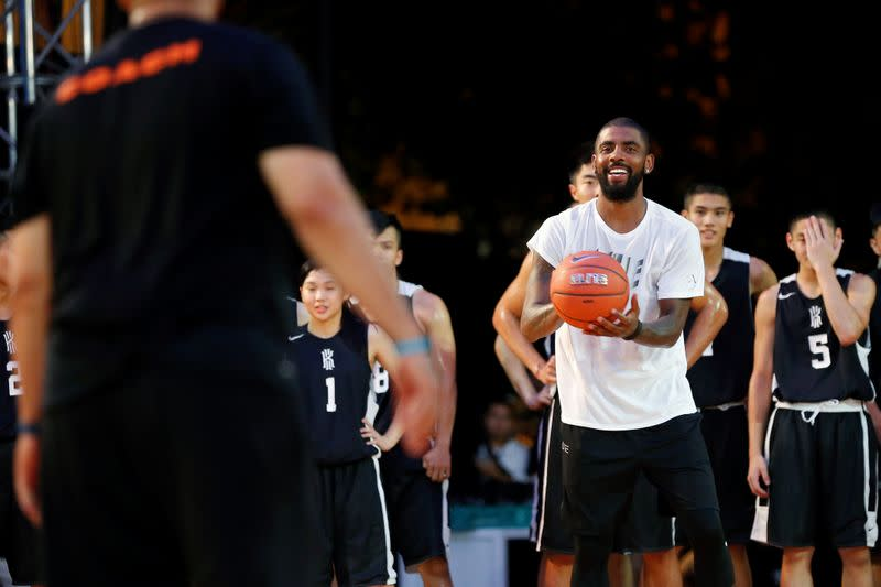 Kyrie Irving Pledges $1.5 Million To WNBA Players