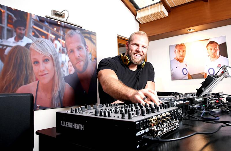 James Haskell is also a DJ (PA)