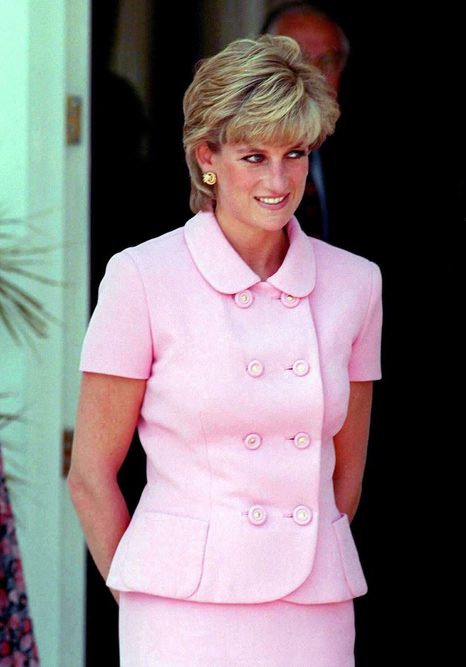 Princess Diana, pictured in 1995, reportedly loved the name Allegra [Photo: PA]