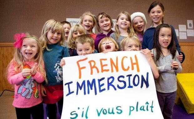 French immersion enrolement dropped in B.C. for the first time in 20 years during the 2020-21 school year. (Canadian Parents for French - image credit)