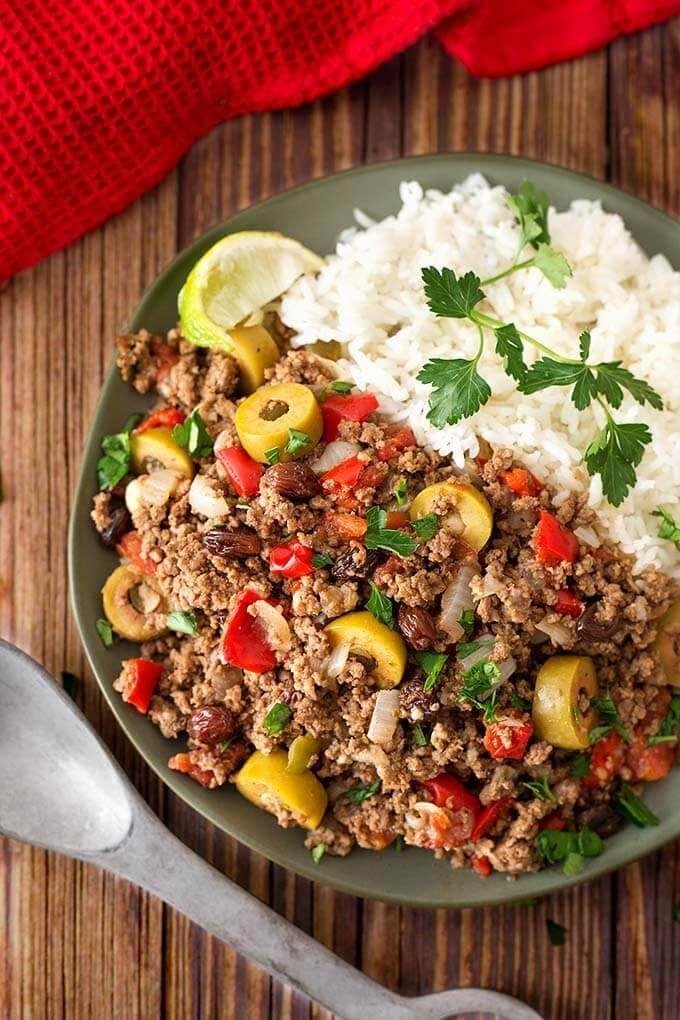 """<p>Serve this meal over a bed of rice, in soft taco shells, or stuffed inside empanadas. </p><p><strong>Get the recipe at <a href=""""https://www.simplyhappyfoodie.com/instant-pot-picadillo/"""" rel=""""nofollow noopener"""" target=""""_blank"""" data-ylk=""""slk:Simply Happy Foodie"""" class=""""link rapid-noclick-resp"""">Simply Happy Foodie</a>.</strong></p><p><strong><strong><strong><strong><strong><strong><strong><strong><strong><strong><strong><strong><strong><strong><strong><strong><strong><strong><strong><strong><a class=""""link rapid-noclick-resp"""" href=""""https://www.amazon.com/Instant-Pot-Multi-Use-Programmable-Pressure/dp/B00FLYWNYQ/?tag=syn-yahoo-20&ascsubtag=%5Bartid%7C10063.g.36311962%5Bsrc%7Cyahoo-us"""" rel=""""nofollow noopener"""" target=""""_blank"""" data-ylk=""""slk:SHOP INSTANT POTS"""">SHOP INSTANT POTS</a></strong></strong></strong></strong></strong></strong></strong></strong></strong></strong></strong></strong></strong></strong></strong></strong></strong></strong></strong><br></strong></p>"""