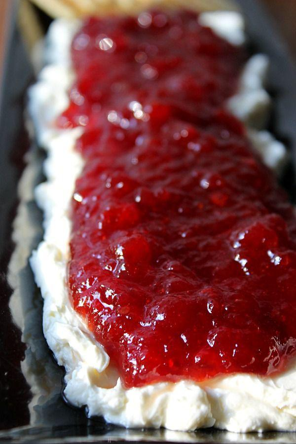 """<p>If you've never turned cranberry relish into pepper jelly yet, get ready for your mind to be totally blown.</p><p>Get the recipe from <a href=""""http://www.lifewiththecrustcutoff.com/cranberry-pepper-jelly-dip/"""" rel=""""nofollow noopener"""" target=""""_blank"""" data-ylk=""""slk:Life With The Crust Cut Off"""" class=""""link rapid-noclick-resp"""">Life With The Crust Cut Off</a>.</p>"""