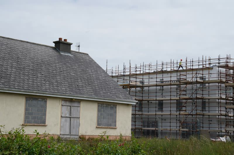FILE PHOTO: A derelict property is seen in Galway