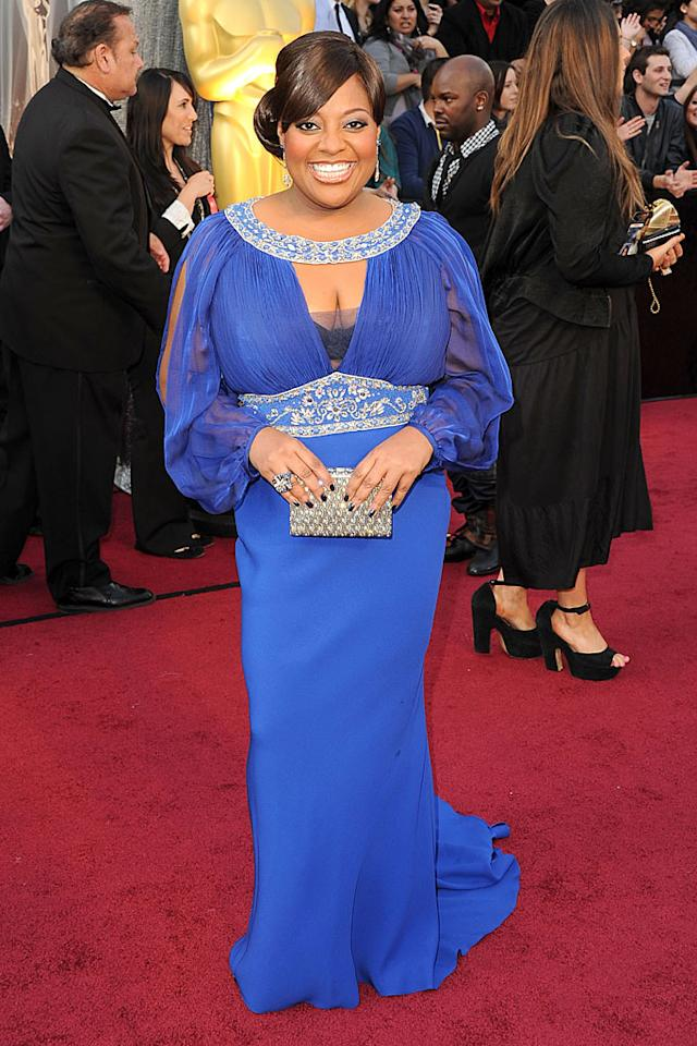 Sheri Shepherd arrives at the 84th Annual Academy Awards in Hollywood, CA.