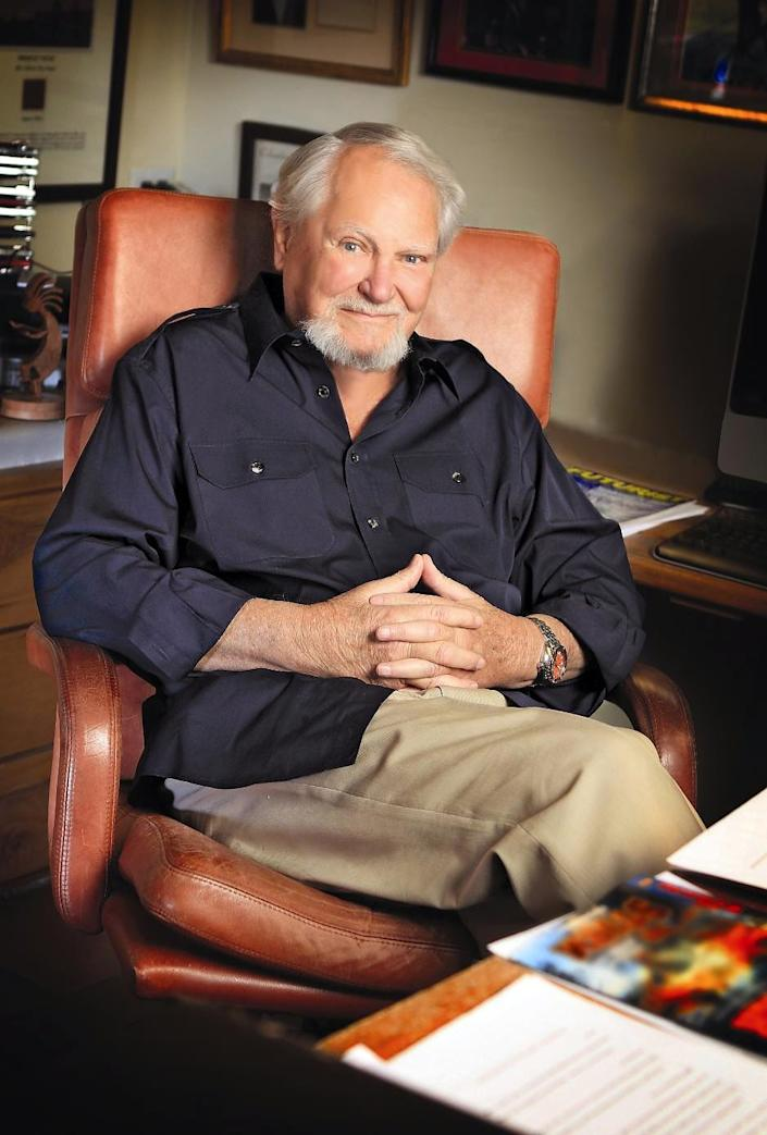 """Clive Cussler, whose books sold millions of copies, died Feb. 24 at his home in Scottsdale, Arizona, at age 88.Cussler's most popular and enduring creation was recurring character Dirk Pitt, the ultimate man's man and globetrotting adventurer with the US National Underwater and Marine Agency (NUMA).Of his books, 73 titles that Cussler authored or co-authored hit USA TODAY's Best-Selling Books List. His adventures have twice been adapted for the big screen: Pitt was portrayed by Richard Jordan in the 1980 film """"Raise the Titanic"""" and by Matthew McConaughey in 2005's """"Sahara.""""Cussler's newest book, """"Journey of the Pharaohs,"""" goes on sale March 10."""