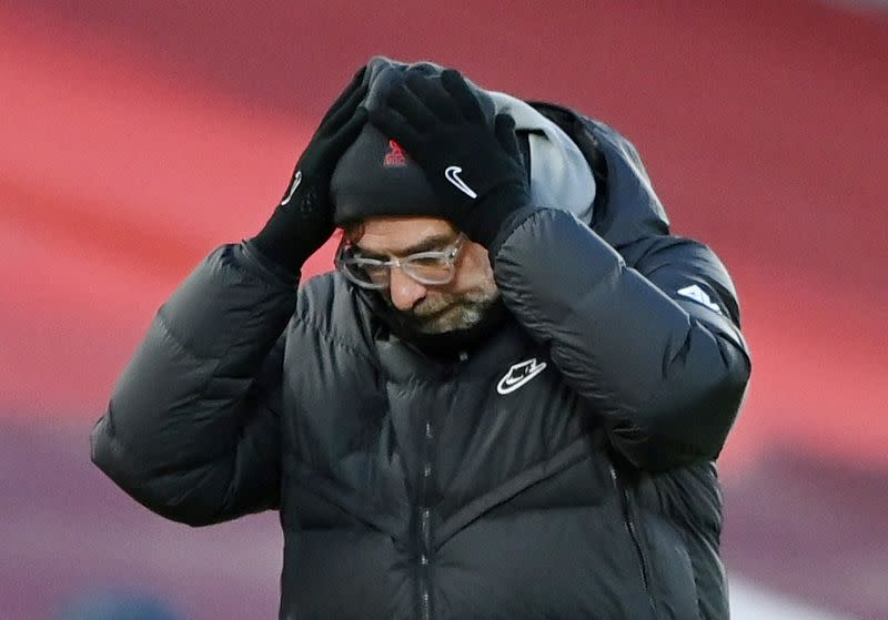 Soccer-Liverpool coach Klopp unable to attend mother's ...