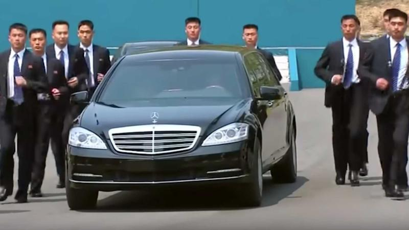 Maybach S600 Pullman Guard Kim Jong-Un