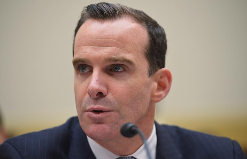 US Deputy Assistant Secretary of State for Iraq and Iran in the Bureau of Near Eastern Affairs, Brett McGurk, testifies on July 23, 2014 on Capitol Hill in Washington, DC (AFP Photo/Mandel Ngan)