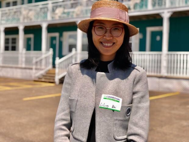 Liling Bai became a business owner this spring, purchasing the St. Peters Bayview Suites.  (Wayne Thibodeau/CBC - image credit)