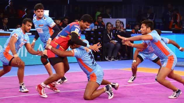 Pro Kabaddi League: UP Yoddha thrash Bengal Warriors 41-25