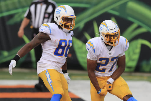 Chargers offense balanced, but needs to be more productive