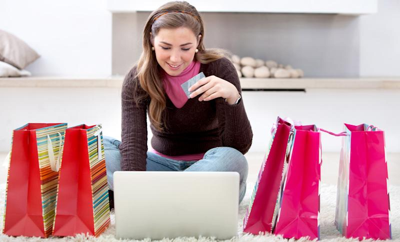 Christmas present shopping online internet