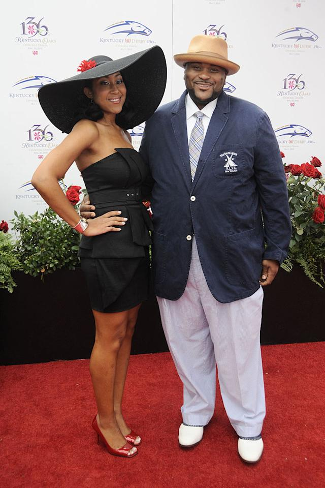 """American Idol"" season 2 winner Ruben Studdard looked ecstatic as he walked the red carpet with his wife of almost two years, Zuri. Would you like to see ""the velvet teddy bear"" back on ""Idol"" as a mentor? Jeff Gentner/<a href=""http://www.gettyimages.com/"" target=""new"">GettyImages.com</a> - May 1, 2010"