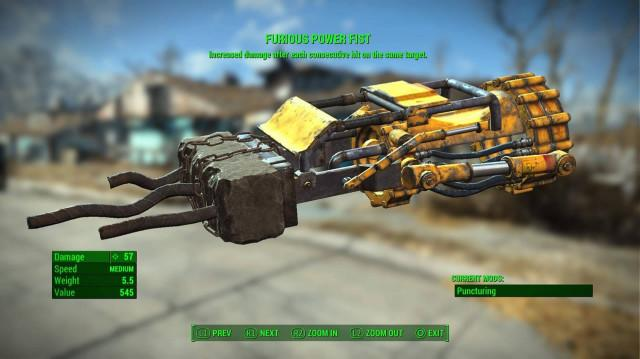 fallout power fist