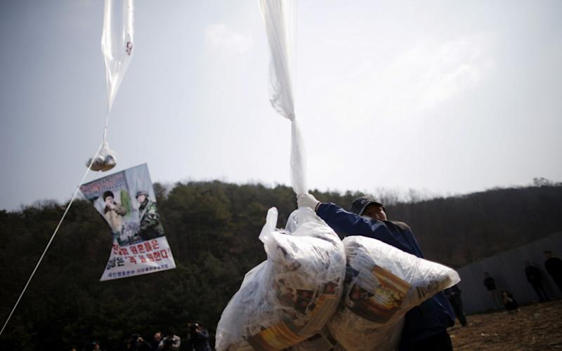 Pyongyang cut communications with South Korea this week over its anger at defectors sending propapanda leaflets over the border into the North - REUTERS