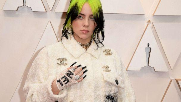PHOTO: Billie Eilish arrives for the Oscars in Hollywood, Calif., Feb. 9, 2020. (Robyn Beck/AFP/Getty Images)