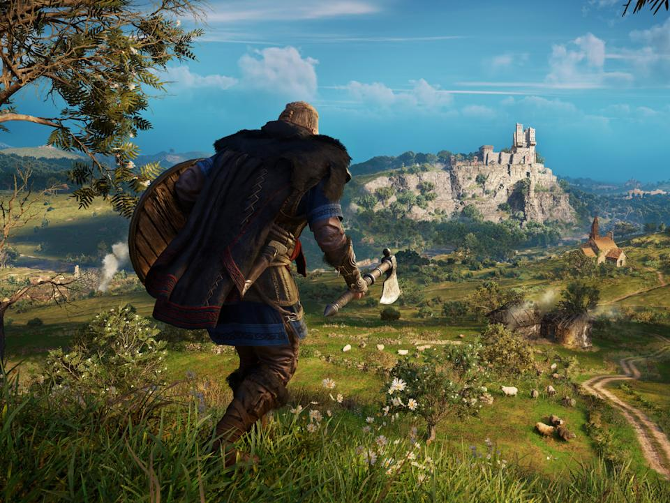 Assassin's Creed Valhalla is one of several games coming to next-gen consoles in time for launchUbisoft