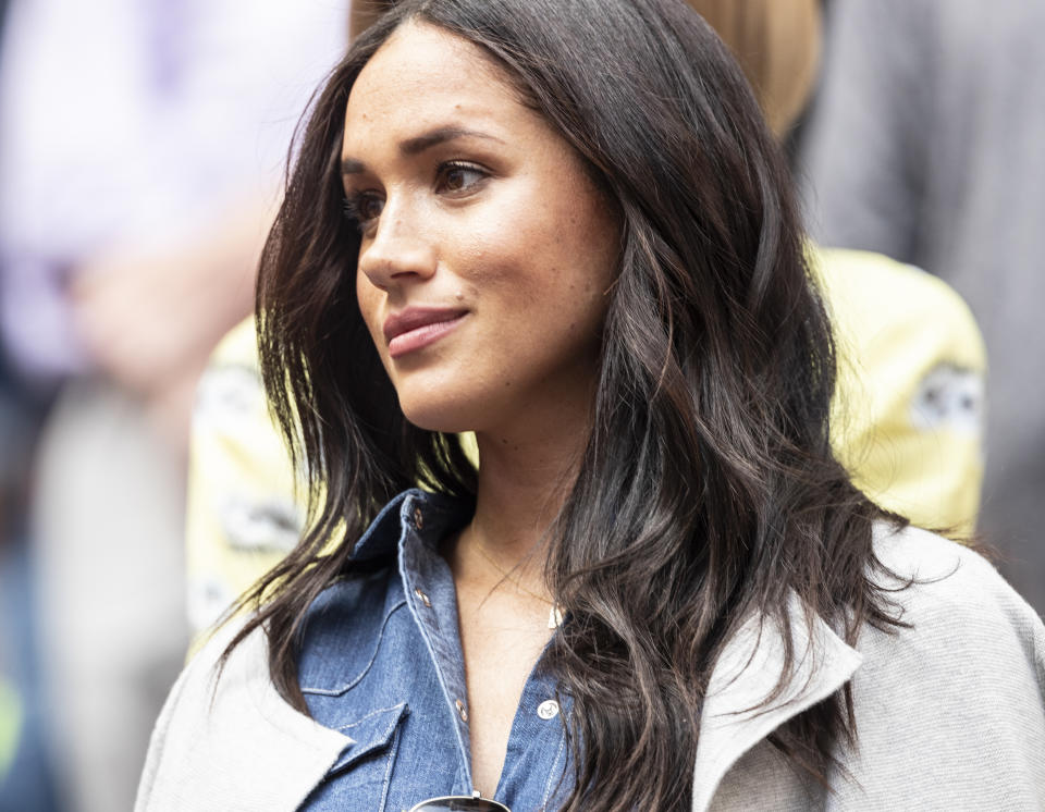 """Meghan Markle revealed her miscarriage in a Nov. New York Times essay and the """"unwarranted shame"""" of pregnancy loss. (Photo: Lev Radin/Pacific Press/LightRocket via Getty Images)"""