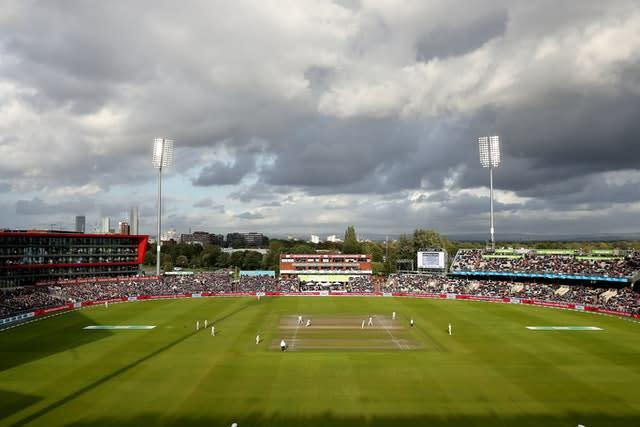 The West Indies began an inter-squad friendly at Old Trafford on Tuesday (Martin Rickett/PA)