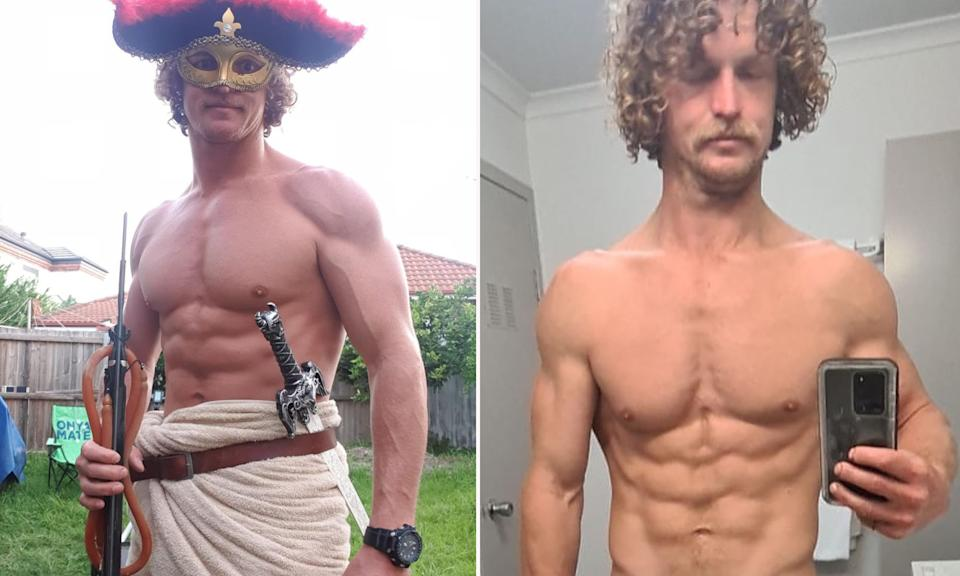 Nick 'Honey Badger' Cummins has shown off his dramatic weight loss after competing on SAS Australia. Photo: Instagram/NickBadger