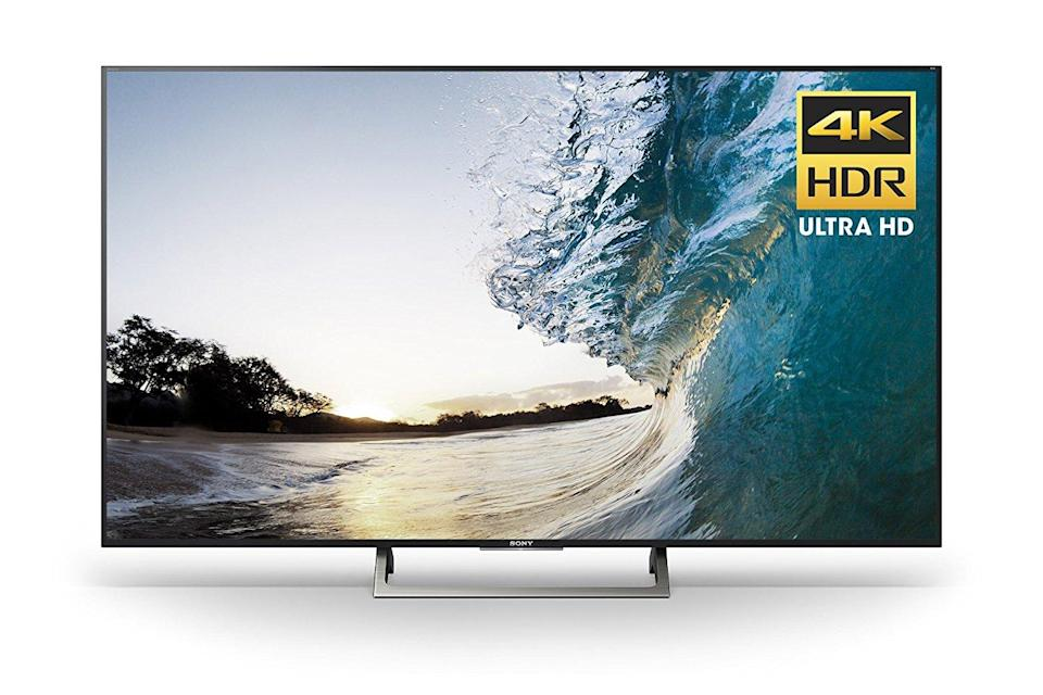 A Sony TV that was on sale during last year's Prime Day.