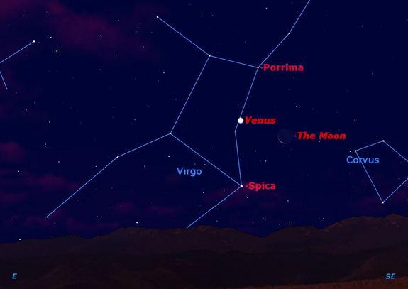 Cosmic Triple Treat Will Shine in This Weekend's Dawn Skies