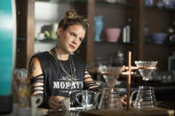 <p>Clay's middle school crush, coffeehouse barista Skye Miller, is an edgy loner, but she's more like Hannah than she seems. While she's the same age as the other characters, she stays out of the high school social scene. (Photo:Netflix) </p>