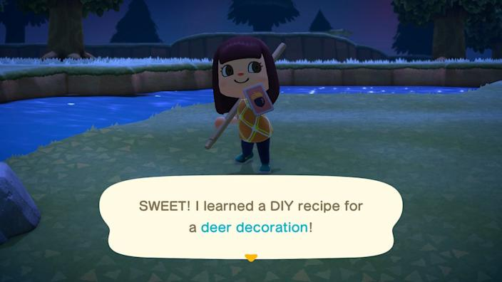 Animal Crossing Recipe