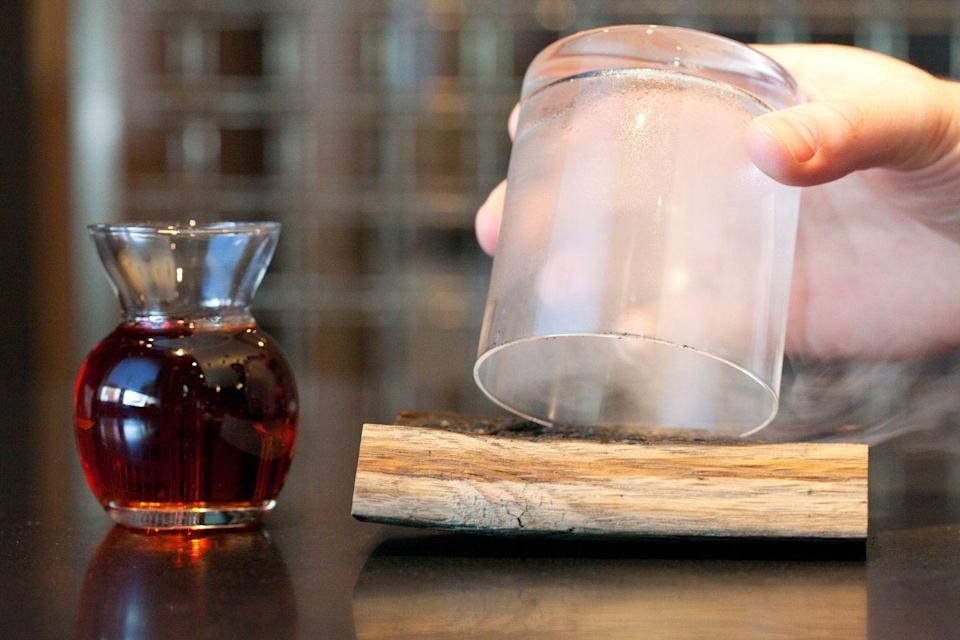 """<p><em>Chicago, IL</em></p><p>From a beverage treasure chest to sparkler cocktails, if you're searching for unique presentation from genuine mixologists, <a href=""""https://www.theaviary.com"""" rel=""""nofollow noopener"""" target=""""_blank"""" data-ylk=""""slk:The Aviary in Chicago"""" class=""""link rapid-noclick-resp"""">The Aviary in Chicago</a> creates much more than just a cocktail—they create a one-of-a-kind experience. Co-founder and Mixologist Charles Joly was even named the 2014 international bartender of the year.</p><p>Photo: Facebook/<a href=""""https://www.facebook.com/aviarycocktails/photos/a.199927773372348/215634811801644/?type=3&theater"""" rel=""""nofollow noopener"""" target=""""_blank"""" data-ylk=""""slk:TheAviary"""" class=""""link rapid-noclick-resp"""">TheAviary</a></p>"""