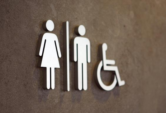 Modern disabled toilet sign (Getty Images/iStockphoto)