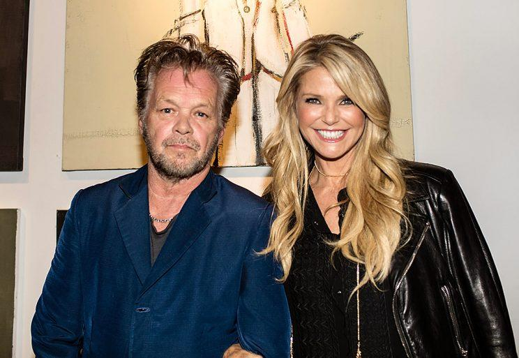 John Mellencamp and Christie Brinkley dated for a year. (Photo: Myrna M. Suarez/Getty Images)