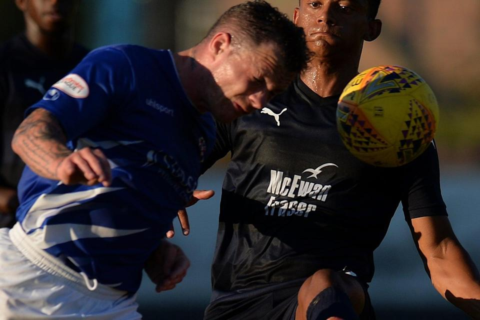 <p>David Cox in action for Cowdenbeath in 2018</p> (Getty Images)